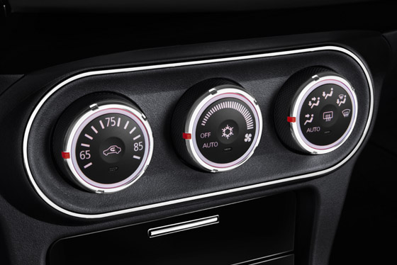 2014 Lancer Evolution automatic climate control