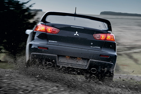 2014 Lancer Evolution active yaw control