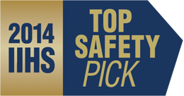 2014 Outlander Sport IIHS Top Safety Pick