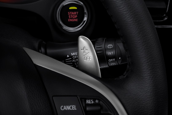 Outlander 2014 paddle shifters