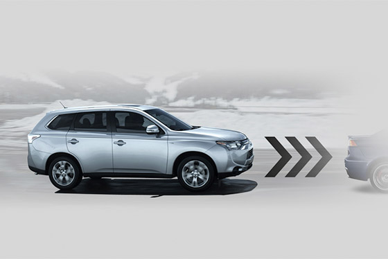 Outlander 2014 forward collision mitigation