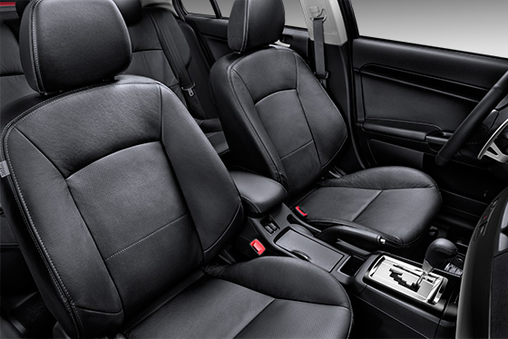 2015 Lancer heated front seats