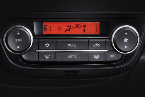 2015 Mirage automatic climate control