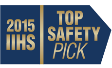 2015 Outlander Sport IIHS Top Safety Pick