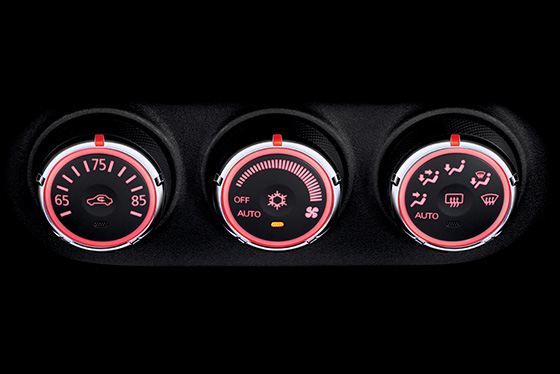 Outlander Sport automatic climate control