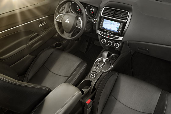 Outlander Sport heated front seats
