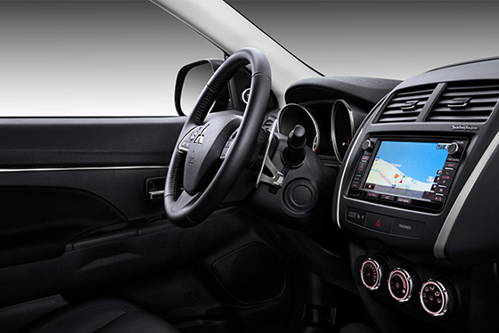 Outlander Sport tilt/telescopic steering wheel