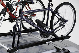 Roof-mounted Bike Carrier, Fork Mount