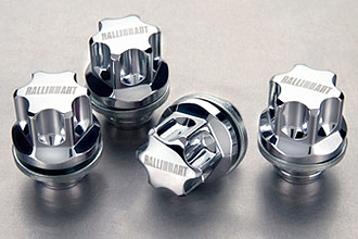 Ralliart Wheel Locks and Fluted Lugs