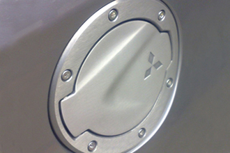 Alloy Fuel Door