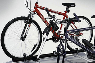 Roof-mounted Bike Carrier, Upright Mount