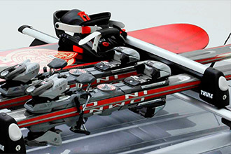 Ski & Snowboard Carrier Attachment
