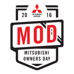 2016 Mitsubishi Owners Day Event Logo