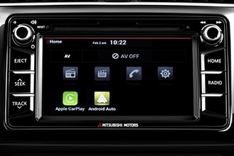 Display Audio with Smartphone link with support for Apple CarPlay&trade; <APPLE003> <sup>-</sup> <ICOWN007>