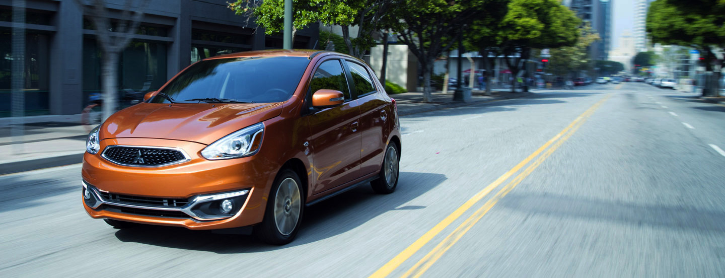 Newly Styled Efficient 2017 Mitsubishi Mirage
