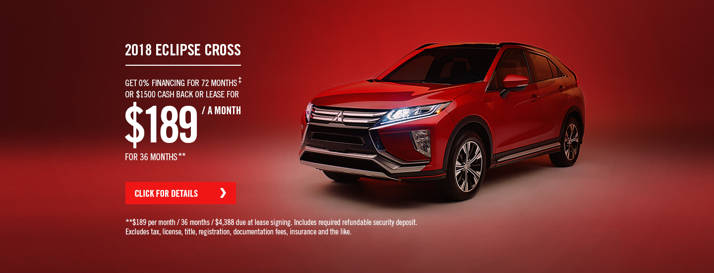 2018 EclipseCross salesoffer
