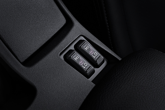 2015 Lancer Evolution heated front seats
