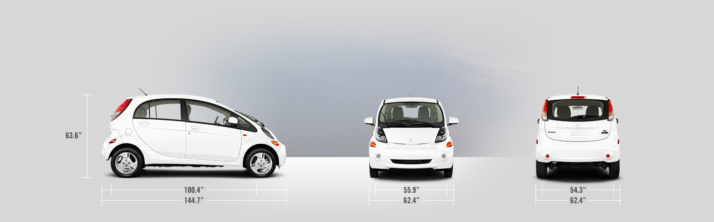 2016 Mitsubishi i-MiEV measurements
