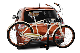 Hitch-mounted Bike Carrier