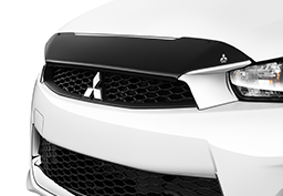 Meet the new front fascia and chrome grille surround on the 2016 Lancer