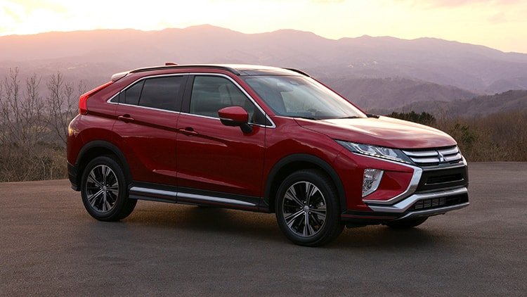 Exterior sideview 2018 Mitsubishi Eclipse Cross SUV