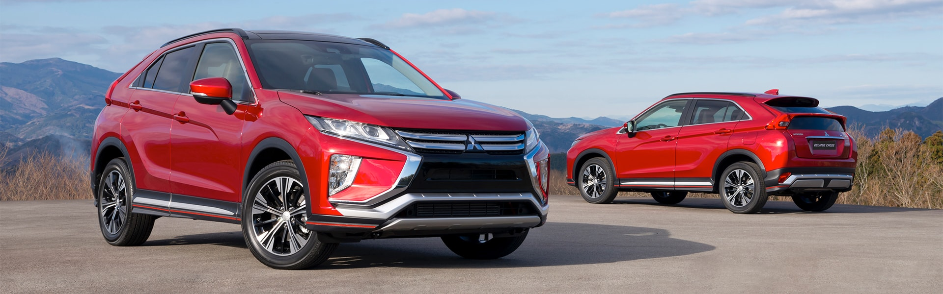 2018 mitsubishi eclipse cross. brilliant 2018 rally red 2018 mitsubishi eclipse cross in sunlight with mitsubishi eclipse cross m
