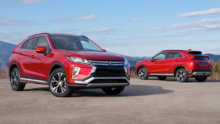 Rally Red 2018 Mitsubishi Eclipse Cross in Sunlight