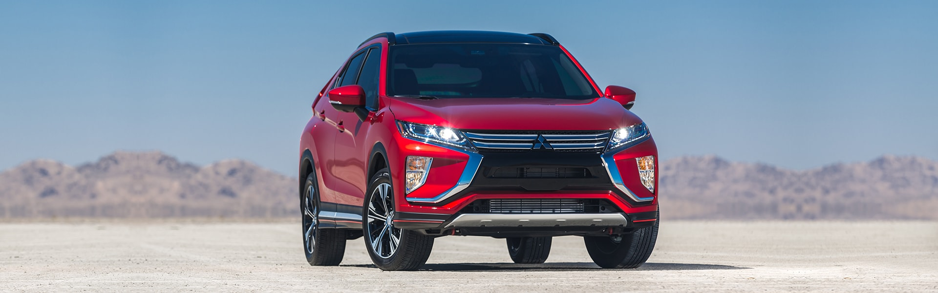 Rally Red Exterior 2018 Mitsubishi Eclipse Cross 01