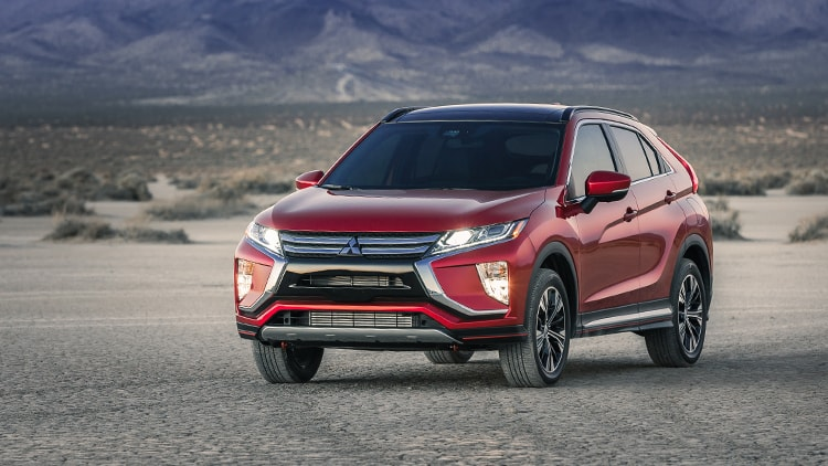 Rally Red Exterior 2018 Mitsubishi Eclipse Cross 03