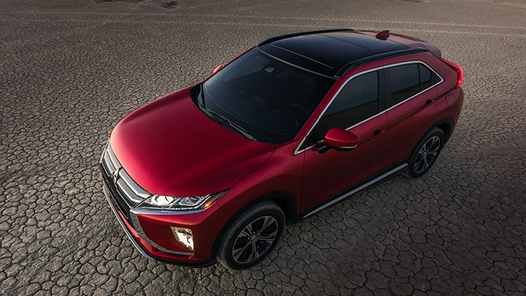 Rally Red Exterior 2018 Mitsubishi Eclipse Cross 04