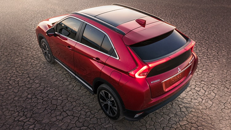 Rally Red Exterior 2018 Mitsubishi Eclipse Cross 05