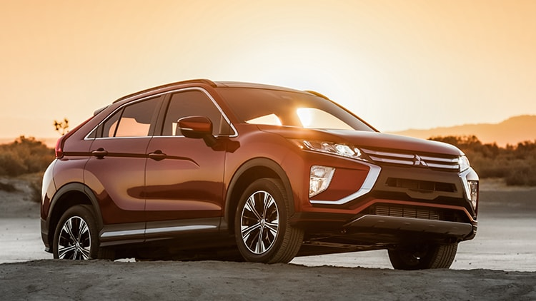 Rally Red Exterior 2018 Mitsubishi Eclipse Cross Sunset