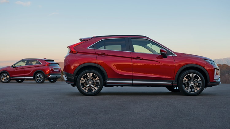 Rally Red Exterior 2018 Mitsubishi Eclipse Cross