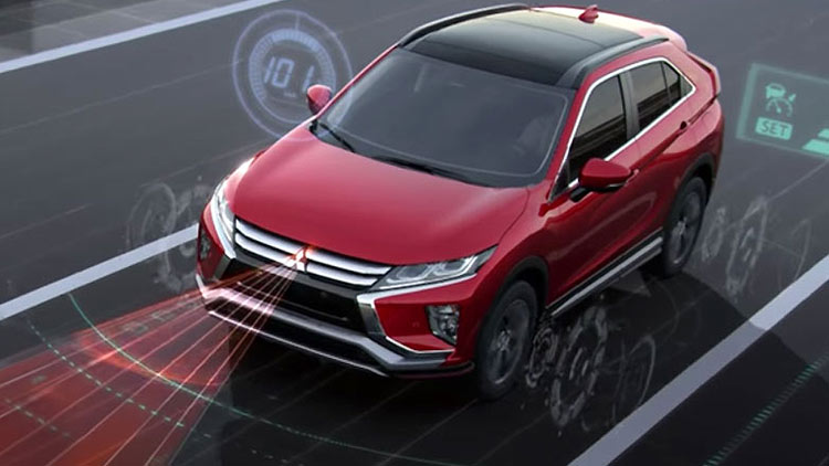 Technological safety features on 2018 Mitsubishi Eclipse Cross