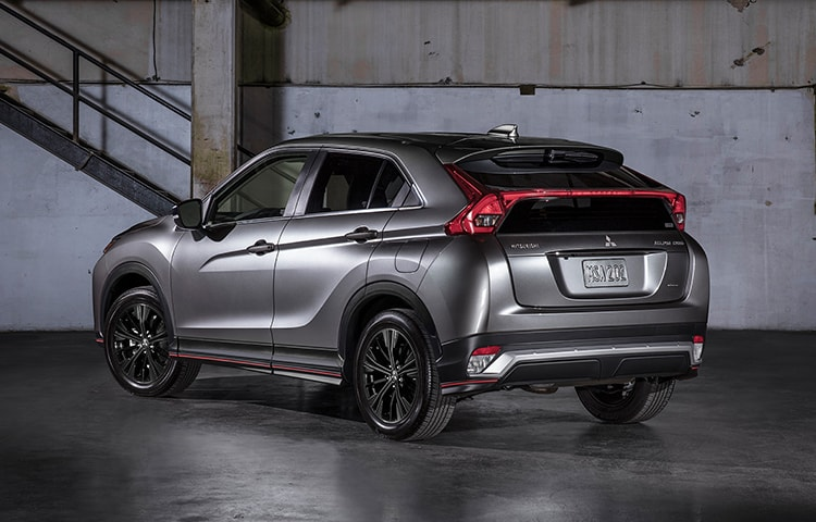 Shine in the dark with the impressive and striking Eclipse Cross LE.