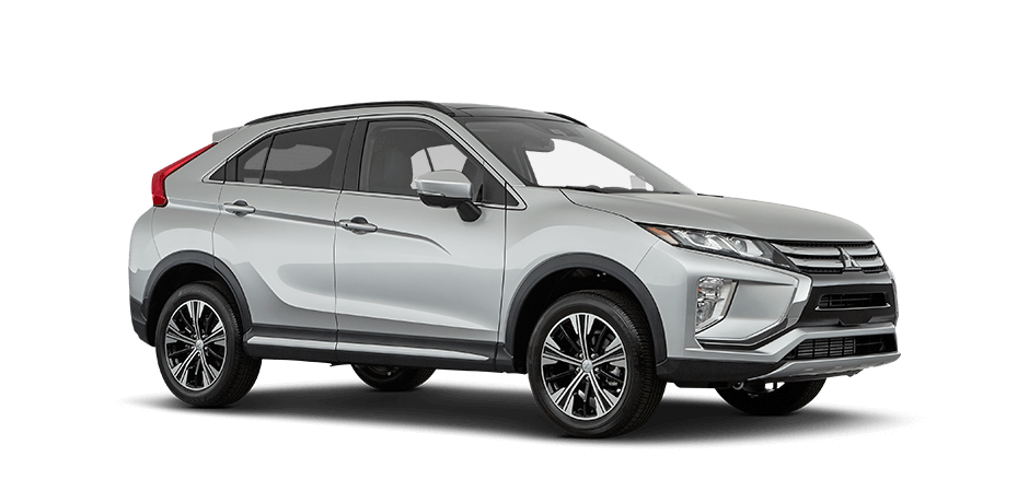 Alloy silver metallic 2018 Mitsubishi Eclipse Cross Exterior 360 View