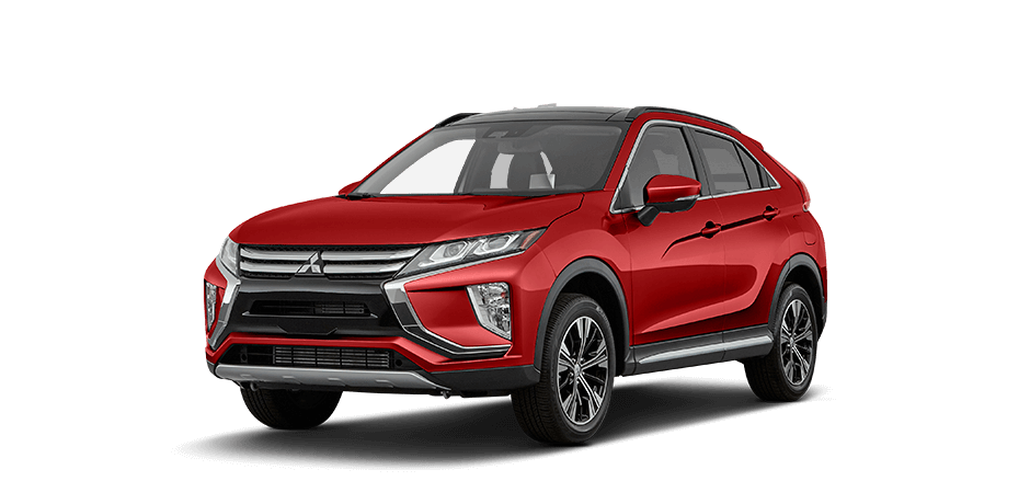 Rally red metallic 2018 Mitsubishi Eclipse Cross Exterior 360 View