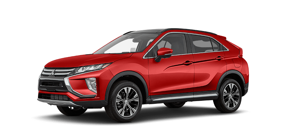 Red diamond 2018 Mitsubishi Eclipse Cross Exterior 360 View