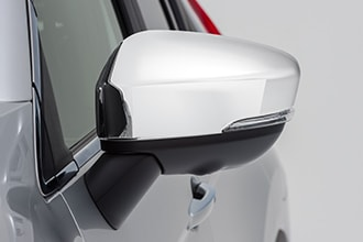Side Mirror Covers, Chrome
