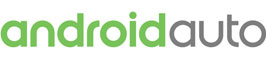 Android Auto logo in green.