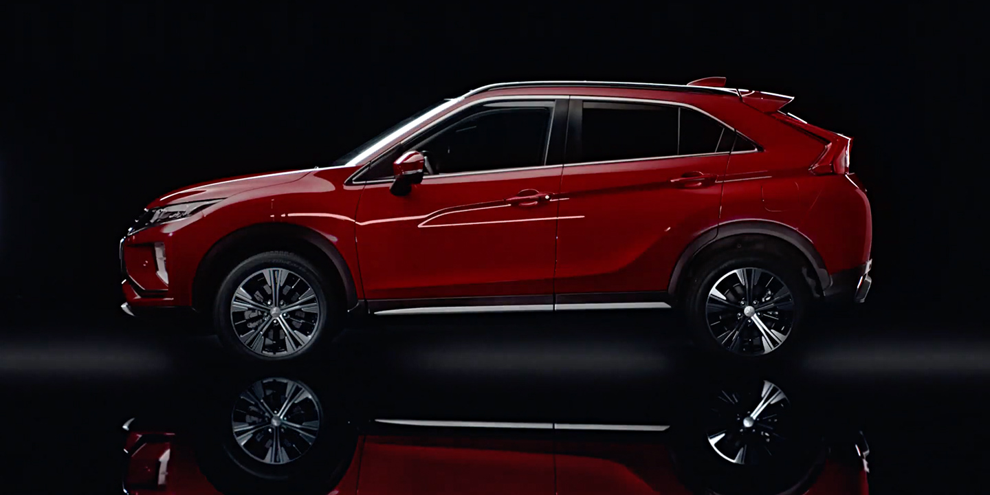 Eclipse Cross Red Diamond
