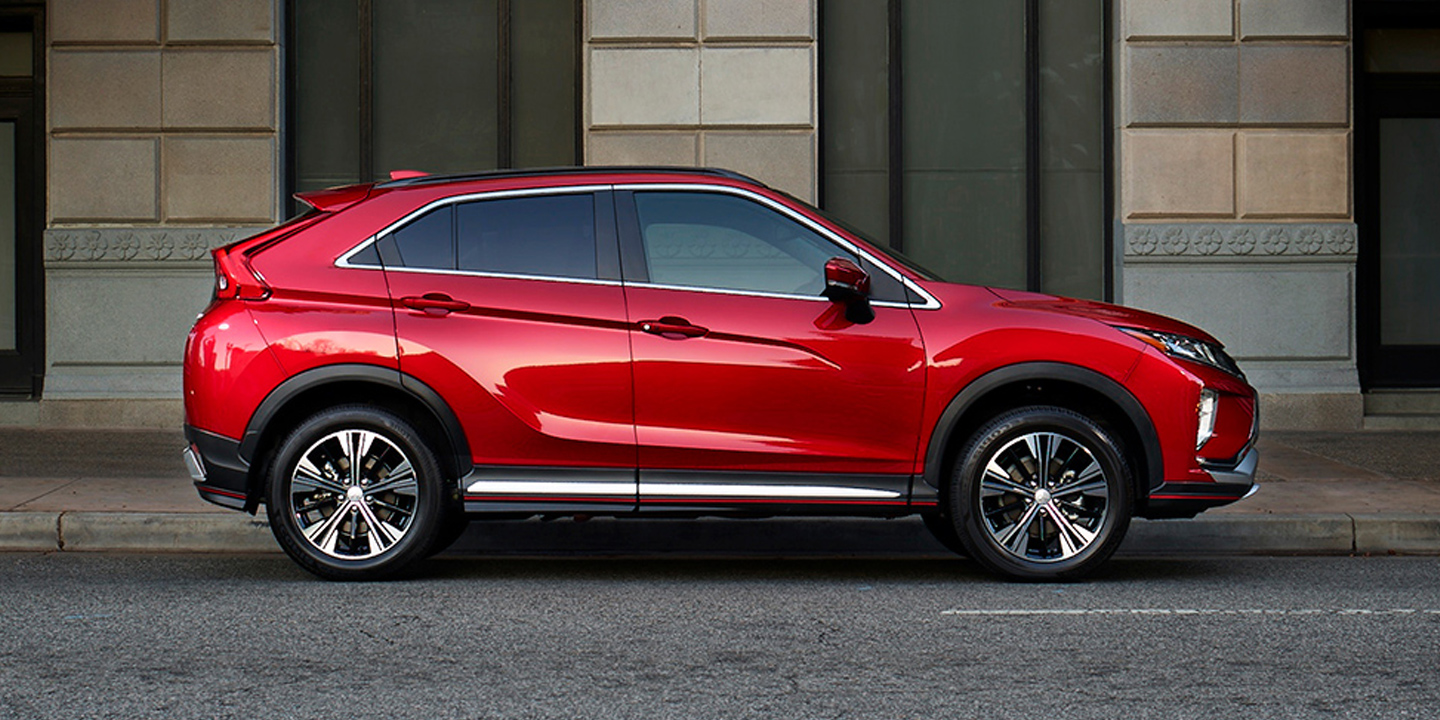 Available in bold colors like red diamond, the 2019 Eclipse Cross is always in style.