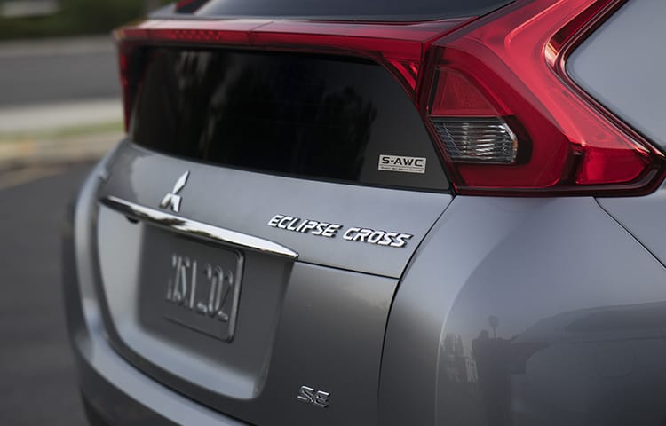Eclipse Cross distinctive styling