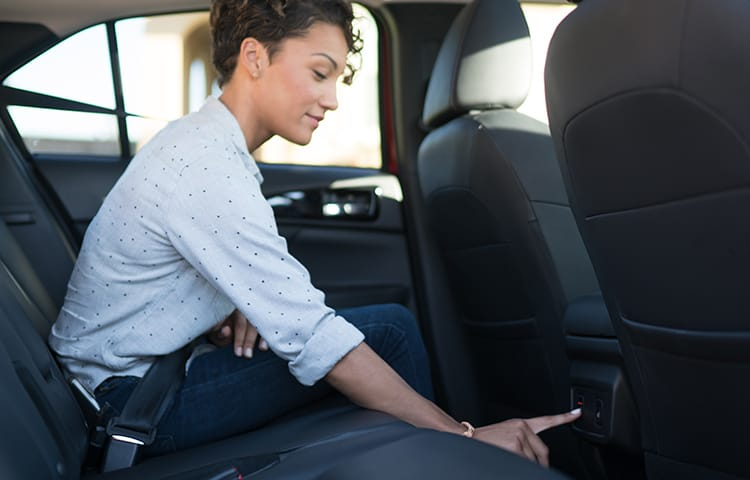 With spacious rear seating and available heated rear seats, long trips just got more comfortable.