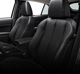 2019 Eclipse Cross upscale seating