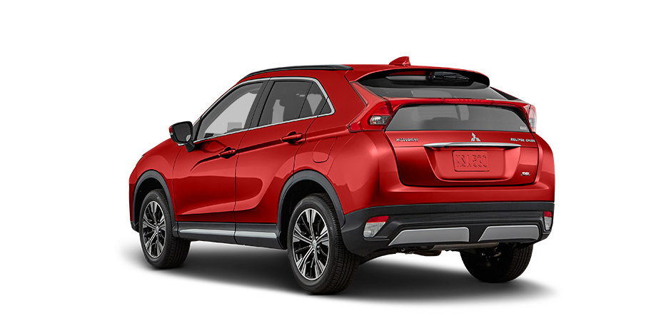Red diamond 2019 Mitsubishi Eclipse Cross Exterior 360 View