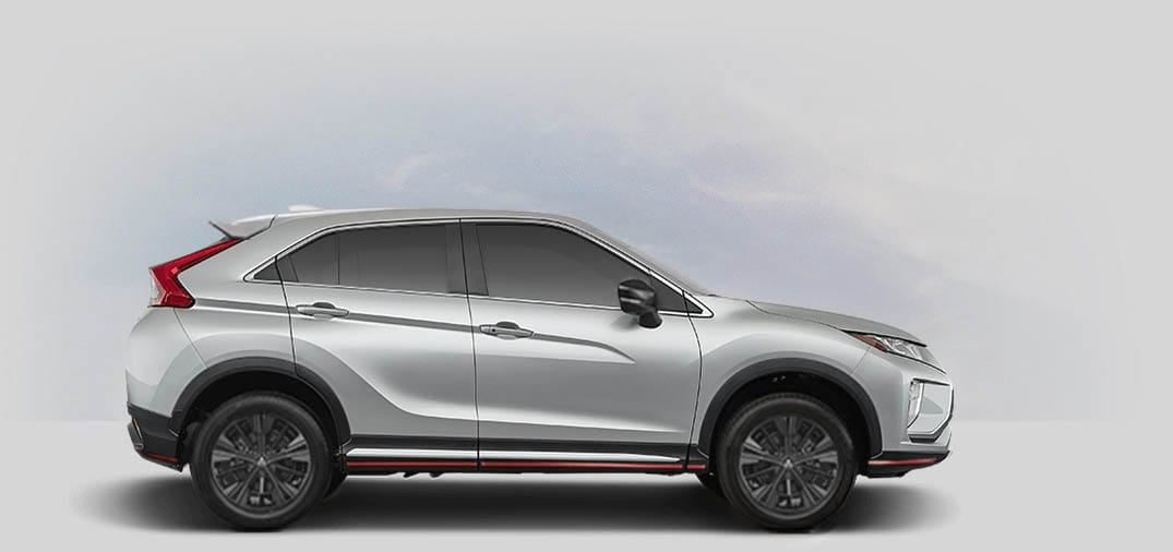 A 2020 Mitsubishi Eclipse Cross SP 1.5T with metallic silver color.