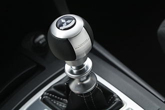 Aluminum/Leather Shift Knob