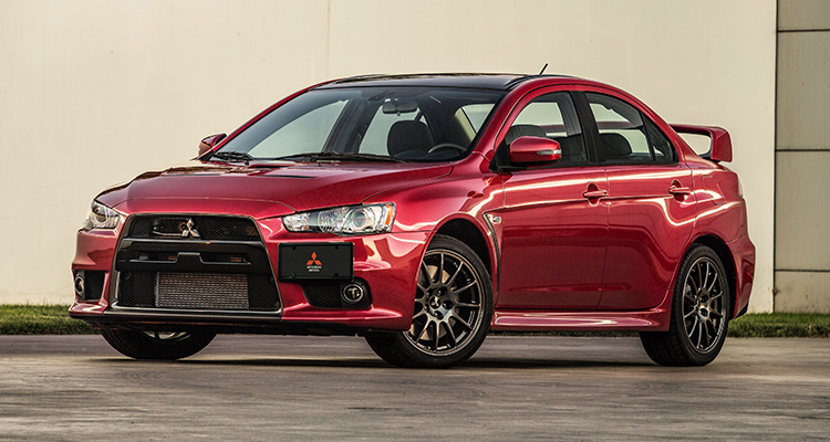US0001 2015 lancer evo final edition exterior rally red