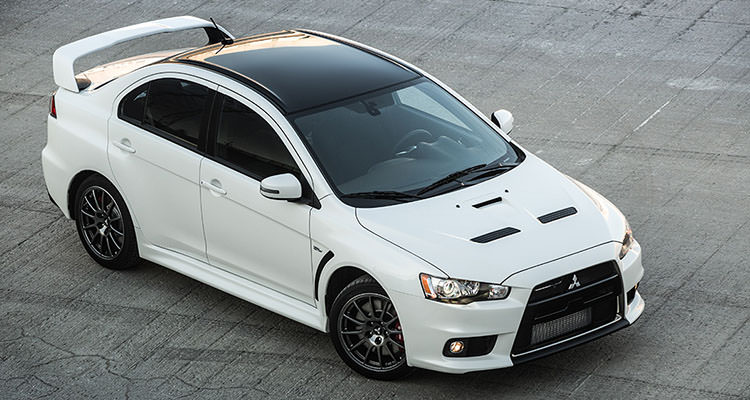 black painted aluminium roof 2015 mitsubishi lancer evo